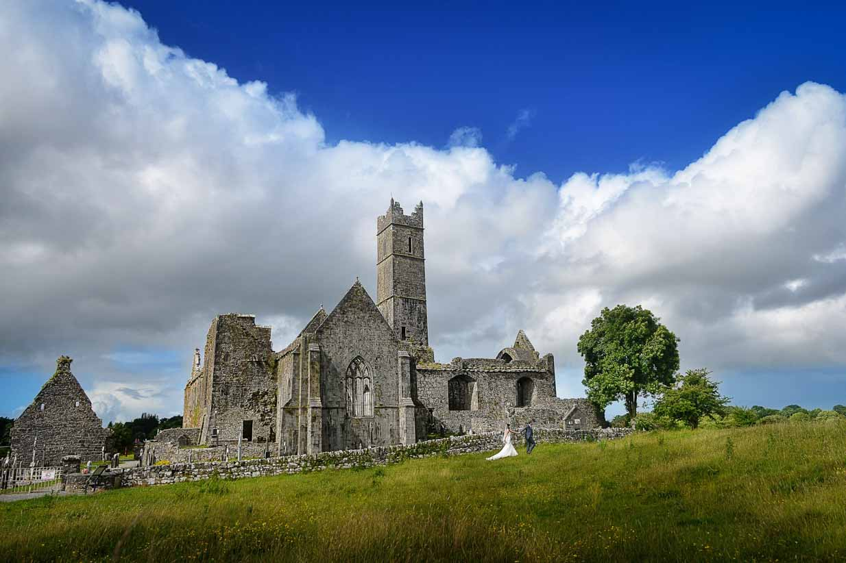 Irish Abbey | Destination Wedding Photographer | SLIVER Photography