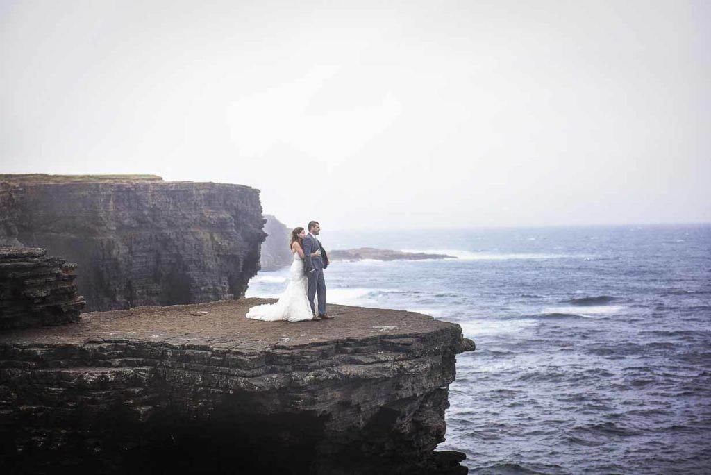 Cliffs of Kilkee   Destination Wedding Photographer   SLIVER Photography