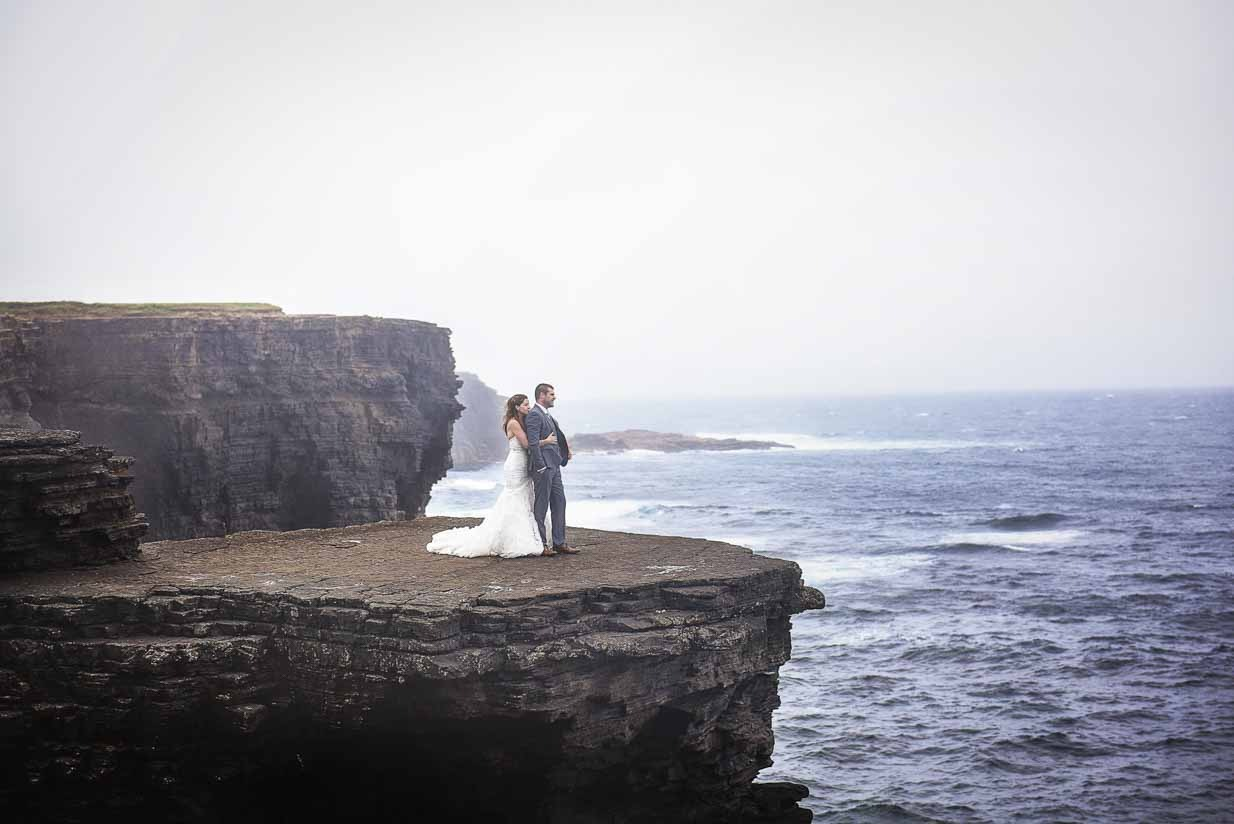Cliffs of Kilkee | Destination Wedding Photographer | SLIVER Photography