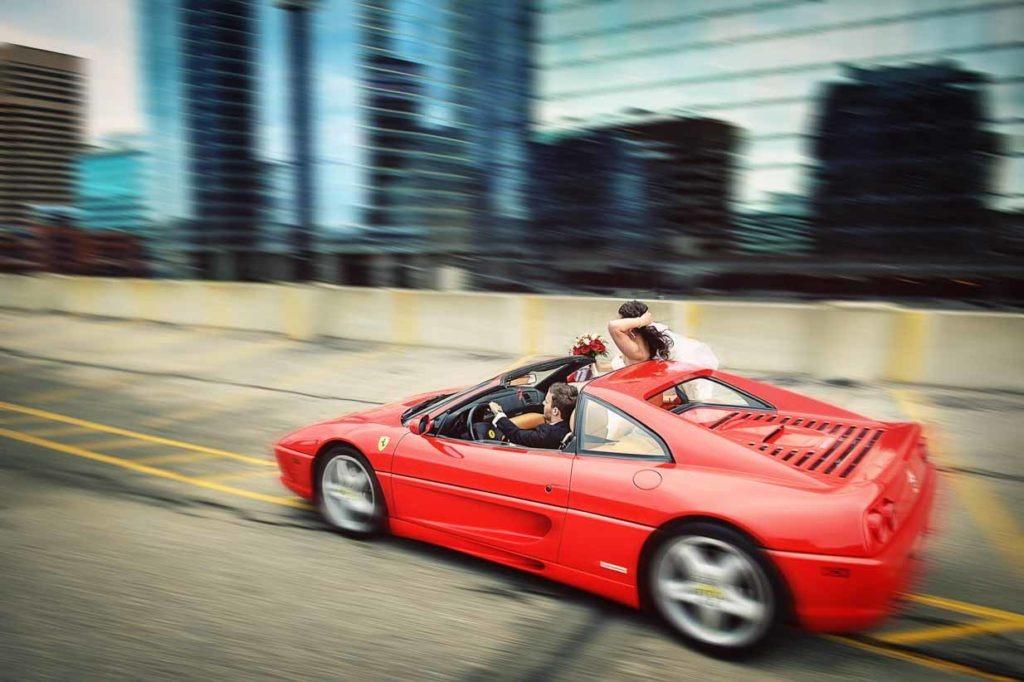 Ferrari Couple | Destination Wedding Photographer | SLIVER Photography