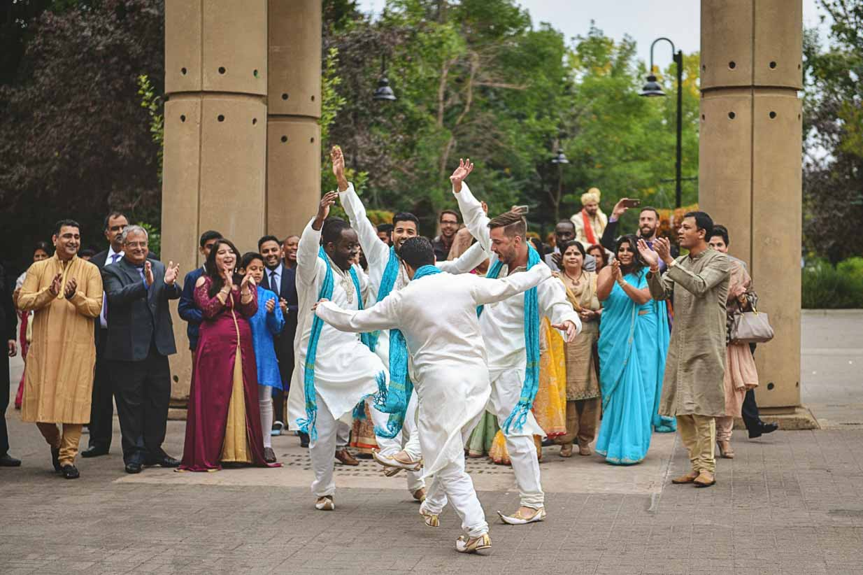 Indian Dancing | Destination Wedding Photographer | SLIVER Photography
