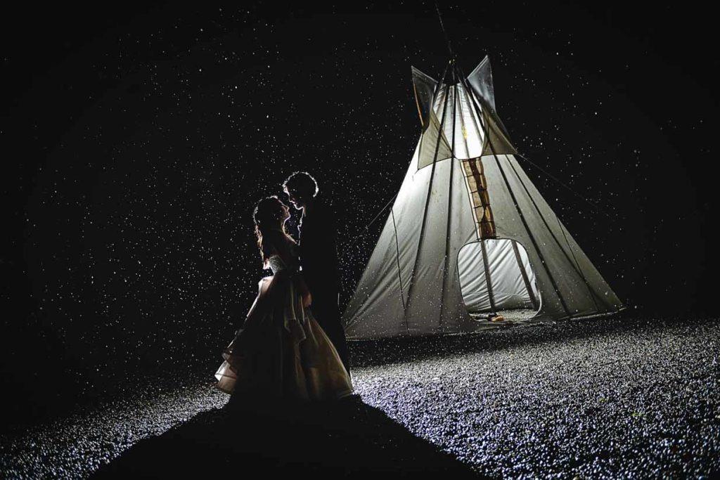 Tipi | Calgary Wedding Photographer | SLIVER Photography