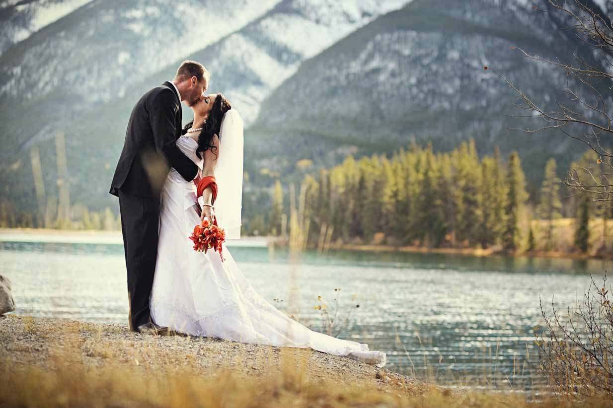 Canmore Lake Wedding | Destination Wedding Photographer | SLIVER Photography