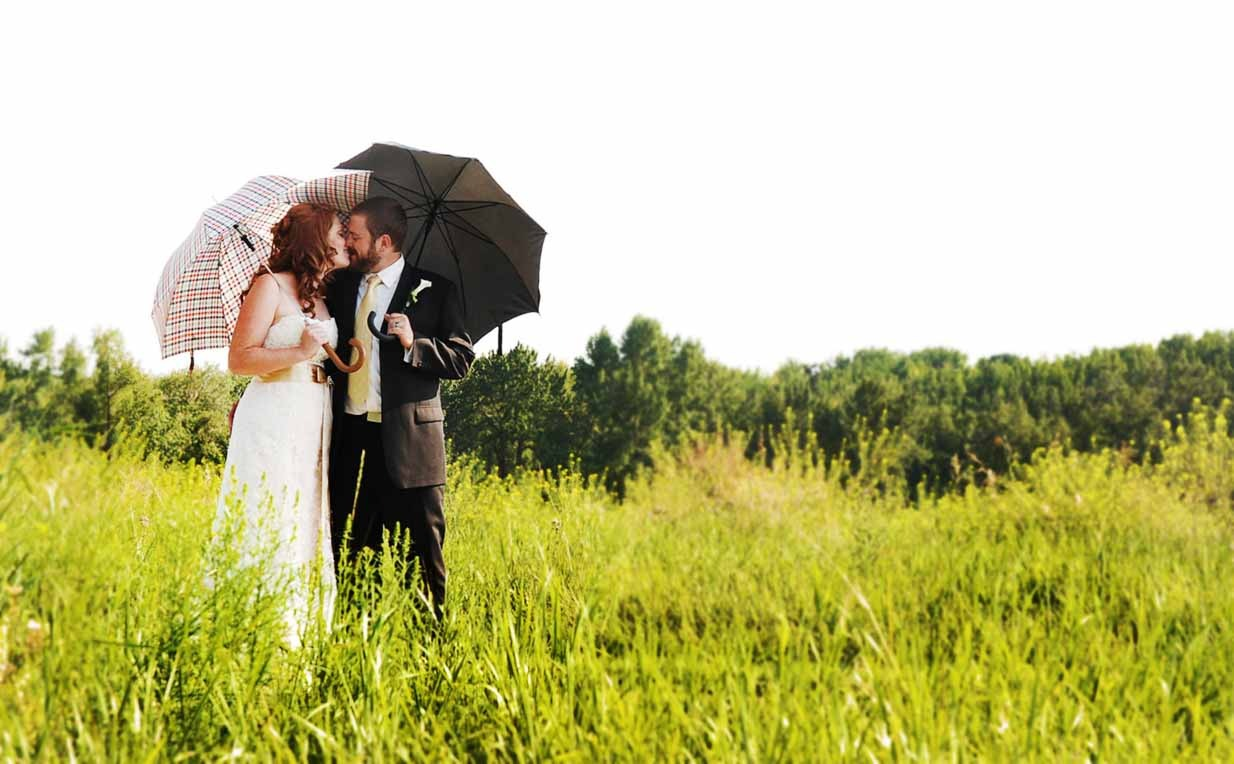 Sunshower | Calgary Wedding Photographer | SLIVER Photography